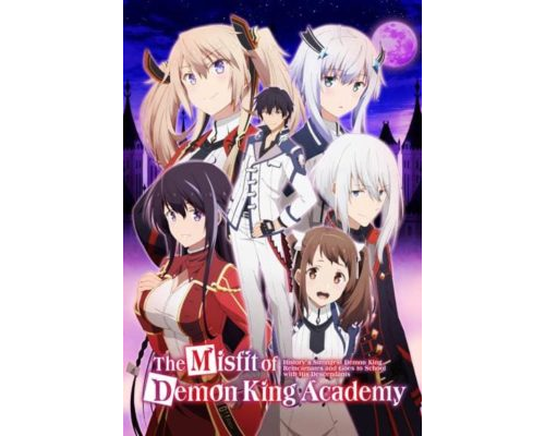 [AnimeFanSubs] The Misfit of Demon King Academy 12. rész